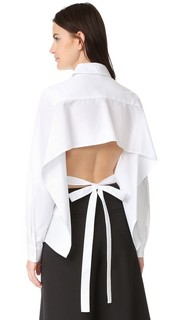 Блуза с плиссировкой спереди Tome