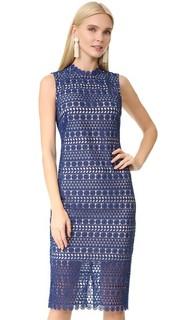 Миди-платье Geo из цветочного кружева Shoshanna