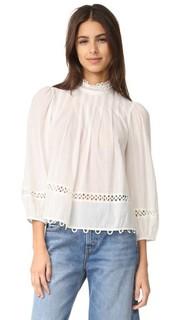 Блуза с высоким вырезом Tula Apiece Apart