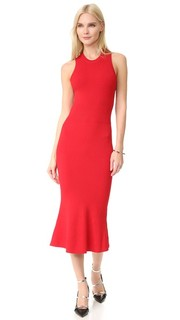 Платье с округлым вырезом Grey Jason Wu