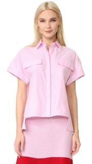 Блуза с короткими рукавами Novis