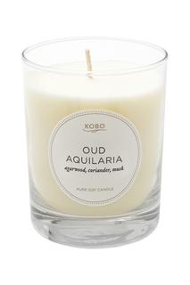 Ароматическая свеча Oud Aquilaria 312гр. Kobo Candles