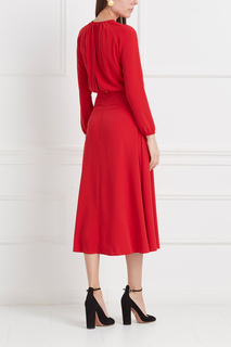 Однотонное платье Laroom