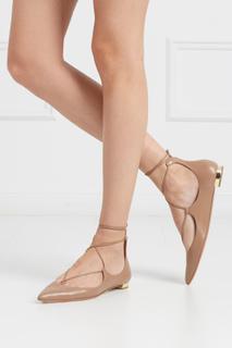 Кожаные туфли Christy Flat Aquazzura