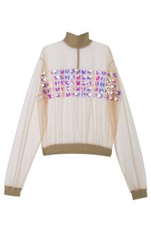 Прозрачная блузка Vardoui Nazarian