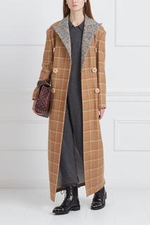 Шерстяное пальто в клетку Vardoui Nazarian