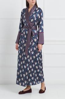Шелковый халат Capability Olivia von Halle