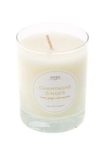 Ароматическая свеча Champagne Ginger Kobo Candles