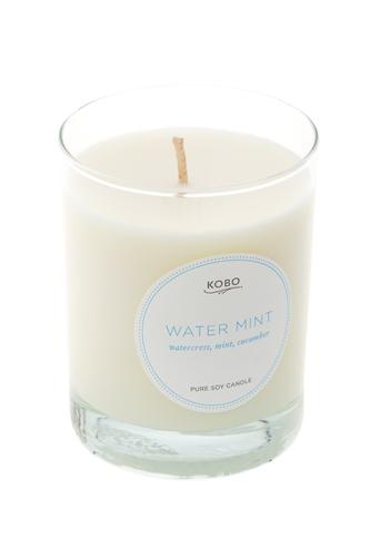Ароматическая свеча Water Mint