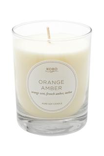 Ароматическая свеча Orange Amber 312гр. Kobo Candles