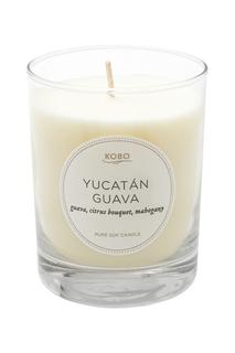 Ароматическая свеча Yucatan Guava 312гр. Kobo Candles
