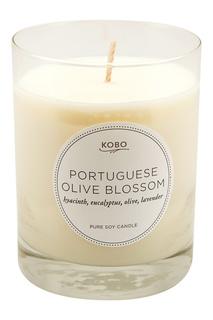 Ароматическая свеча Portuguese Olive Blossom, 312гр. Kobo Candles