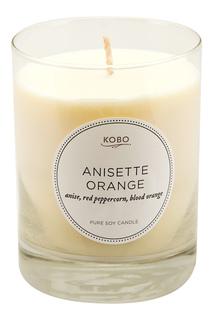 Ароматическая свеча Anisette Orange, 312гр. Kobo Candles