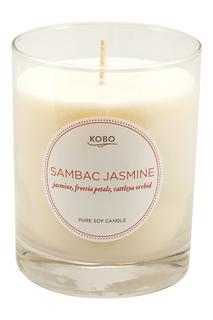 Ароматическая свеча Sambac Jasmine, 312гр. Kobo Candles