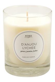 Ароматическая свеча D'Anjou Lychee, 312гр. Kobo Candles