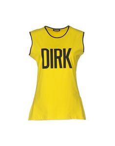 Топ без рукавов Dirk Bikkembergs Sport Couture