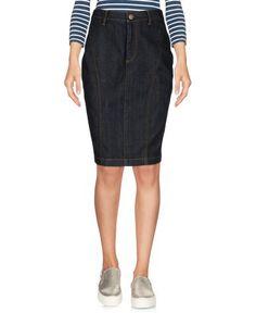 Джинсовая юбка Burberry Brit