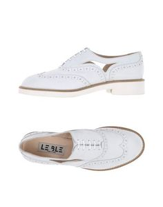 Обувь на шнурках LE BLE