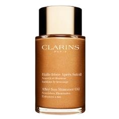 CLARINS Мерцающее масло после загара для тела и волос 100 мл