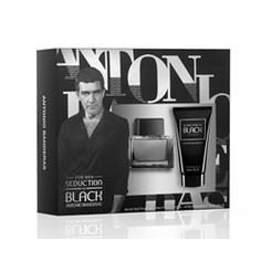 ANTONIO BANDERAS Подарочный набор Seduction In Black Туалетная вода, спрей 50 мл + бальзам после бритья 50 мл