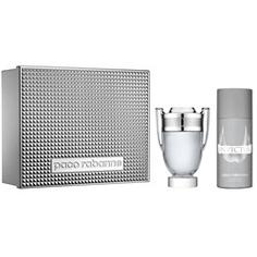 PACO RABANNE Подарочный набор Invictus Туалетная вода, спрей 100 мл + дезодорант 150 мл