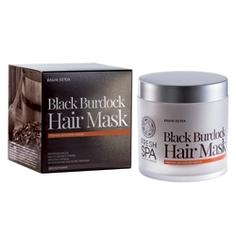 NATURA SIBERICA Маска для волос черная репейная FRESH SPA Bania Detox 400 мл