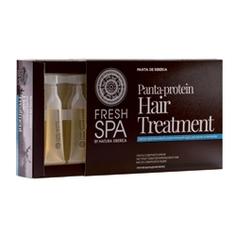 NATURA SIBERICA Курс для волос панта-протеиновый укрепляющий против выпадения FRESH SPA Panta De Siberia 10х15 мл