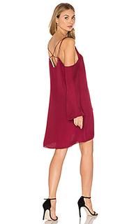 Платье с прорезями на плечах crossroads - Haute Hippie