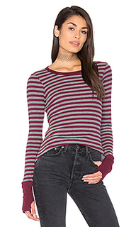Thermal striped sweater - Michael Stars
