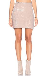 Мини юбка с блестками - Michael Stars