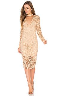 Кружевное платье flynn - Ganni