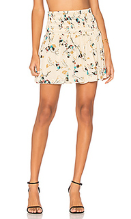 Marietta georgette mini skirt - Ganni