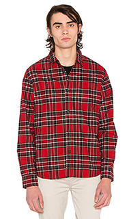 Double brush flannel button down - Stussy