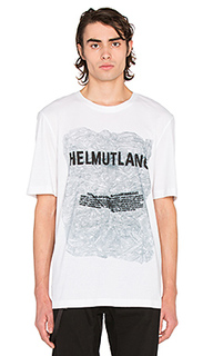 Box fit s/s tee - Helmut Lang