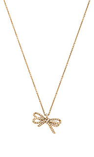 Pave twisted bow pendant - Marc Jacobs