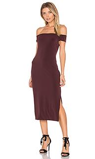 Миди платье с открытыми плечами francella - Velvet by Graham & Spencer