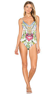 Scoop back one piece - Camilla