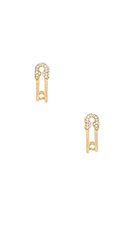 Strass safety pin ear hoop - Marc Jacobs