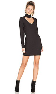 Cut out jacquard dress - twenty