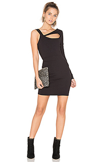 Cut out one sleeve dress - twenty