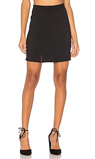 Double slit mini skirt - twenty