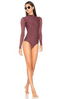 Mesh ehukai rashguard - Acacia Swimwear
