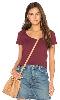 Классическая футболка в рубчик - ROLLAS