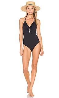 Цельный купальник с завязкой broadway - Marysia Swim
