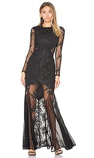 Embroidered mermaid gown - Donna Mizani