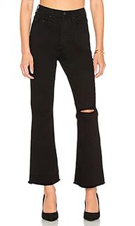 Укороченные расклёшенные джинсы belle - Nobody Denim