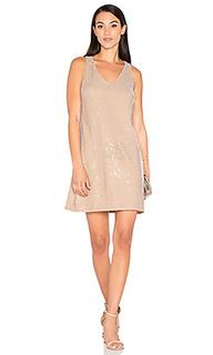 Мини-платье с блестками - Michael Stars