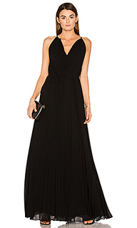 Cadence tie neck pleated gown - Elizabeth and James