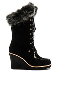 Mandinka boot with faux fur cuff - Australia Luxe Collective