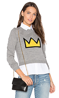 Nikia crown sweater - Alice + Olivia